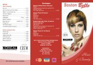 Hair & Beauty - Boston Brand Bars