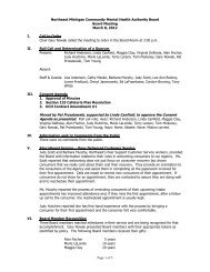 Board Meeting Minutes 03-08-12 (pdf) - NEMCMH.org