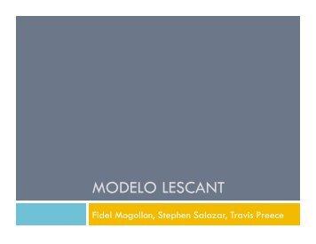 MODELO LESCANT