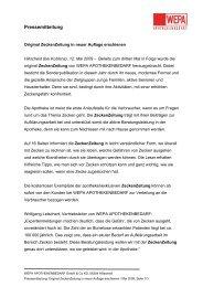 Pressemitteilung - WEPA Apothekenbedarf GmbH & Co KG