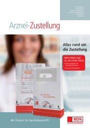 rund um die Zustellung - WEPA Apothekenbedarf GmbH & Co KG