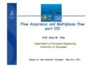 Flow Assurance and Multiphase flow p part III - Aker Solutions