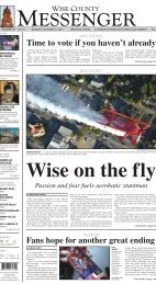 10-31-2010-Sunday - Wise County Messenger