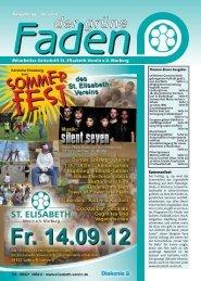 Der grüne Faden - St. Elisabeth-Verein ev
