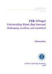 ITB Sebagai Universitas Riset dan Inovasi - Blog Fakultas Ilmu dan ...