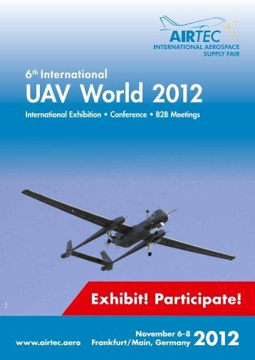 UAV World conference 2013 - Airtec
