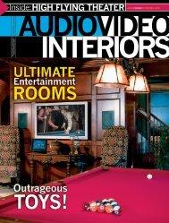 A Man's Home is His Castle - Audio Video Interiors - Atlanta Home ...