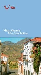 TUI - Infos, Tipps, Ausflüge: Gran Canaria - tui.com - Onlinekatalog