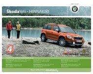 ÅkodaYeti - HINNAKIRI - Aasta Auto