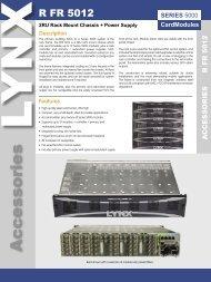 R FR 5012 rev 1.1.indd - LYNX Technik AG