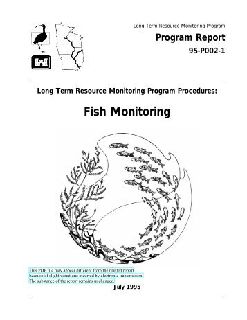 Fish Monitoring - Upper Midwest Environmental Sciences Center