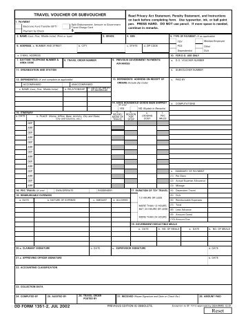 Sample Dd Form 1351 2 Related Keywords Sample Dd Form