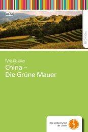 China – Die Grüne Mauer - FWU