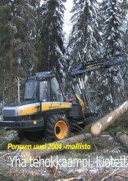 Ponssen uusi 2004-mallisto, Gaselle uusin Ponsse s. 48