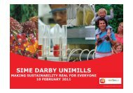 SIME DARBY UNIMILLS - Food Valley
