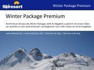 Skiresort stellt Ihr Skigebiet inkl. Video ausführlich vor, bewirbt es ...