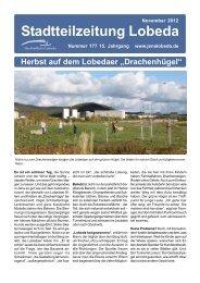 Stadtteilzeitung Lobeda - KOMME eV - Jena