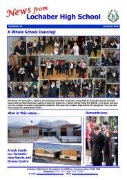 Newsletter 19 - December 2010 - Lochaber High School