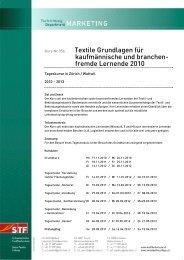 Textile Grundlagen - Textilverband Schweiz