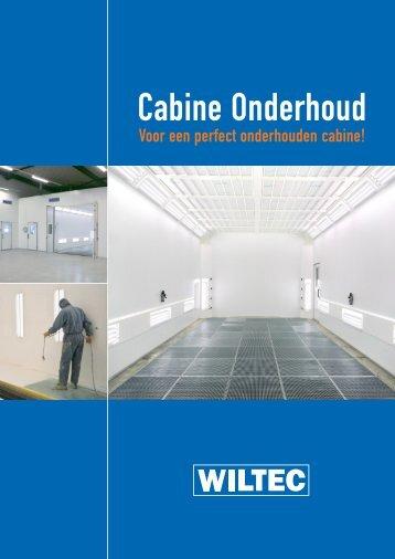 Cabine Onderhoud - Wiltec