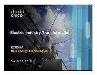 Paul De Martini, CTO & VP, Strategy, Smart Grid, Cisco ... - ecedha