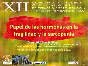 Papel de las hormonas en la fragilidad y la sarcopenia - Scmgg.com