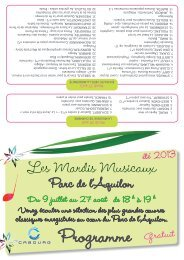 Mardis Musicaux Les Mardis Musicaux Les - Cabourg