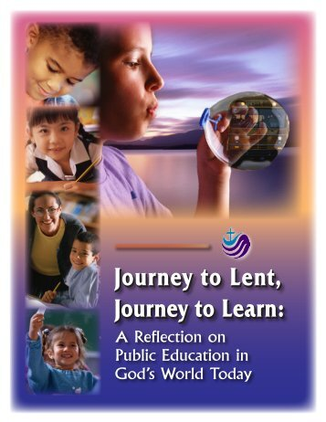 Journey to Lent, Journey to Learn - Ecumenical Work Week