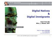 folgende Präsentation von Prof. Dr. Johann ... - e-LISA academy