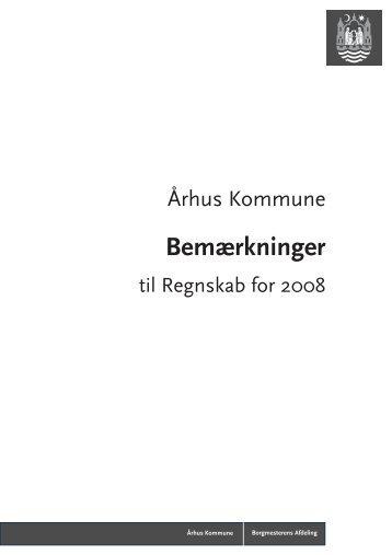 Bemærkninger - Aarhus.dk