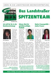 starke Frauen - Die Grünen Landstrasse