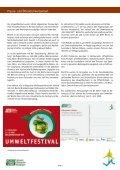 Das Projekt wurde durch das Umweltbundesamt mit ... - Umweltfestival - Seite 7