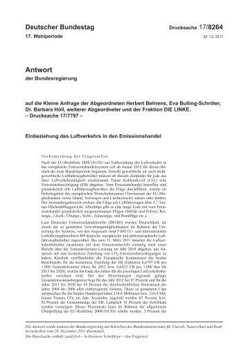 17/8264 - Deutsches Klima Konsortium