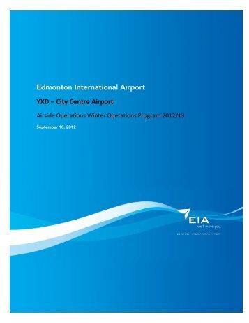 ECCA Airside Winter Operations Program 2012/2013 - EIA Corporate