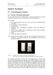 Kapitel 2: Grundlagen - Analytische Chemie