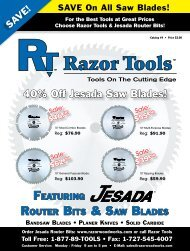 ROUTER BITS & SAW BLADES - Digital Marketing Services