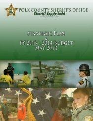 2013-2014 Strategic Plan.pdf - Polk County Sheriff's Office