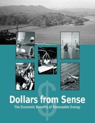 Dollars from Sense: The Economic Benefits of Renewable ... - NREL