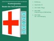 1. Einführung 2. Geschichte I+II 3. DIN 13080 / Pflege 4. DIN 13080 ...