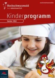 Kinderprogramm - Vier Jahreszeiten am Schluchsee