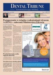 Opinie DENTALTRIBUNE Polish Edition 6 Marketing szeptany 2.0