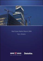 Real Estate Market Report 2008 Kyiv, Ukraine - Ober-Haus