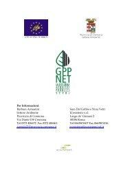 Materiale per i fornitori - GPPnet Cremona
