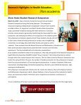 Summer Newsletter 2013 - sophe - Society for Public Health Education - Page 3