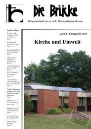 Kirche und Umwelt - Lutherisch in Nordhorn