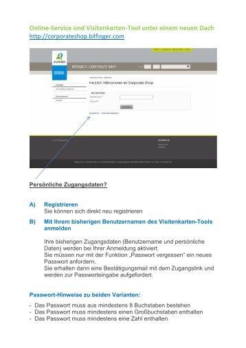 Online Service Und Visitenkarten Tool Unter Einem Neuen Dach