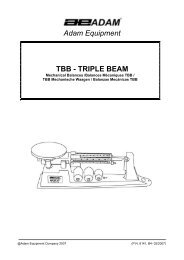 Adam Equipment TBB - TRIPLE BEAM - Wholesale Point