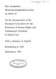 betænkning nr. 1220 af 1991 - Portal om Den Europæiske ...