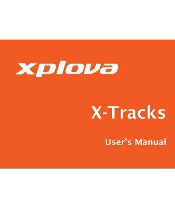 Using X-Tracks - Xplova