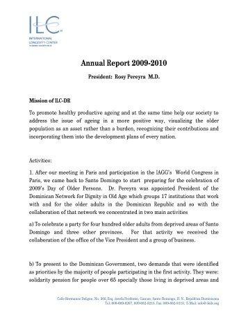 Activity Report(2009-2010)